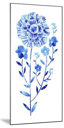 Flowering Flax--Mounted Giclee Print