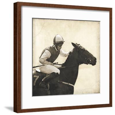 Vintage Equestrian - Done--Framed Giclee Print