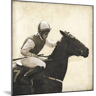 Vintage Equestrian - Done--Mounted Giclee Print