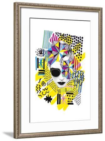 A La Mode - Melange--Framed Giclee Print