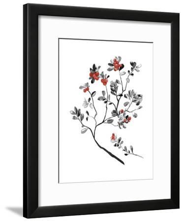 Lingonberry Branch--Framed Giclee Print