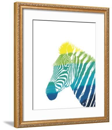 Spectral - Zebra--Framed Giclee Print