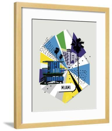 Memphis Group - Miami Stretched Canvas Print by | Art com