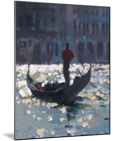 Gondola Glimmer--Mounted Giclee Print