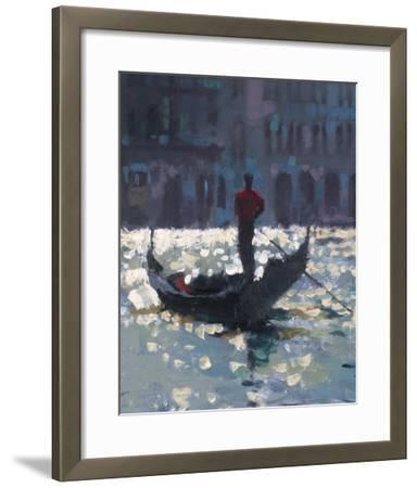 Gondola Glimmer--Framed Giclee Print