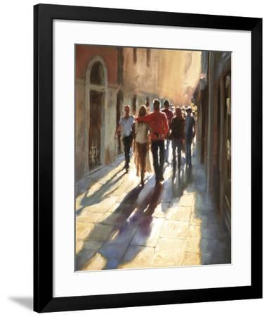 Lost in Love, in Venice--Framed Giclee Print