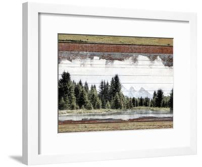 Alpine Range - Lemhi--Framed Giclee Print
