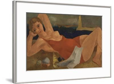 The Bather-Christopher Wood-Framed Premium Giclee Print