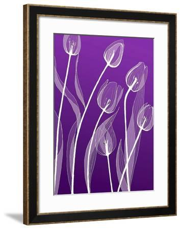 X-ray Flowers-GraphINC-Framed Art Print
