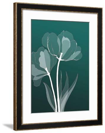 X-ray Flowers-GraphINC-Framed Art Print