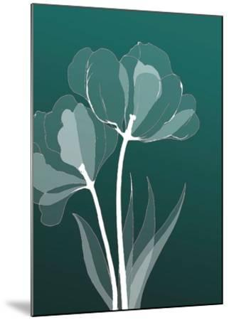 X-ray Flowers-GraphINC-Mounted Art Print