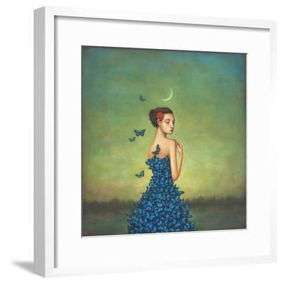 Metamorphosis in Blue-Duy Huynh-Framed Art Print