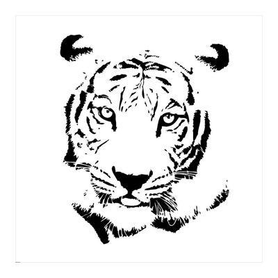 Tiger-GraphINC-Framed Art Print