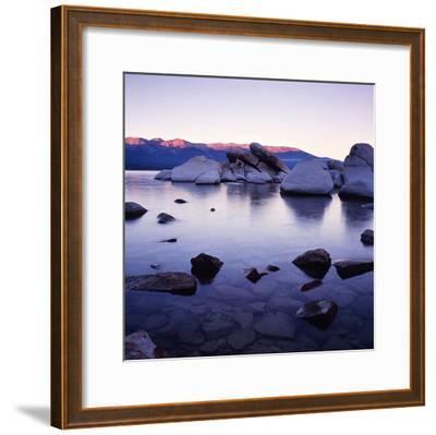 Purple Rocks-PhotoINC Studio-Framed Art Print