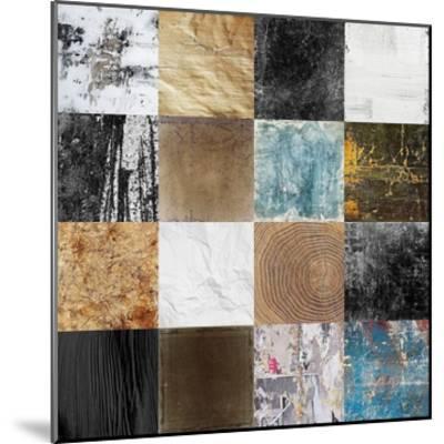 Tiles Decor Blue Notes 2-GraphINC-Mounted Art Print