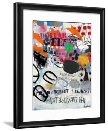 Discs-Sean Punk-Framed Art Print