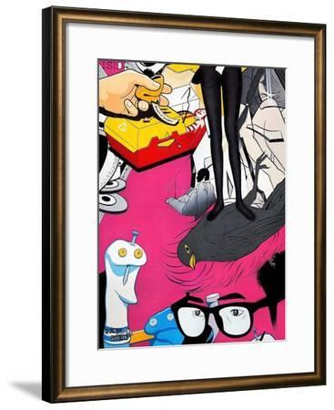 "She""s Got the Look-Colourblind Suicide -Framed Art Print"