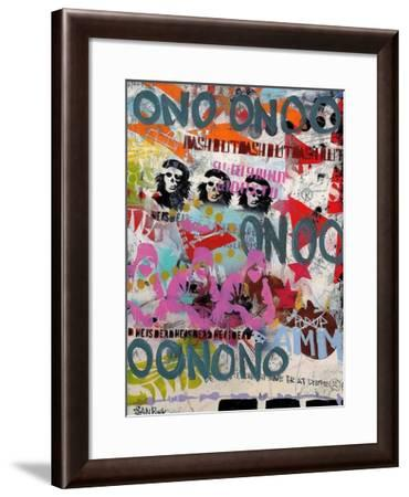On-Sean Punk-Framed Art Print