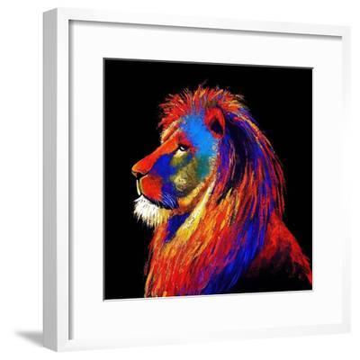 The Lion-Clara Summer-Framed Art Print