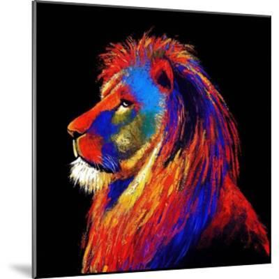 The Lion-Clara Summer-Mounted Art Print