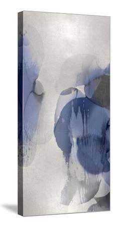 Cascade Indigo Triptych II-Kristina Jett-Stretched Canvas Print