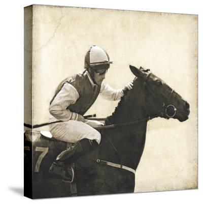 Vintage Equestrian - Done--Stretched Canvas Print