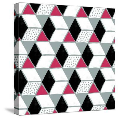 Tumbling Blocks IV--Stretched Canvas Print