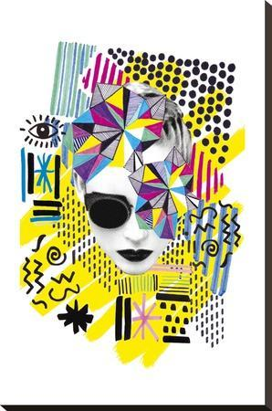 A La Mode - Melange--Stretched Canvas Print