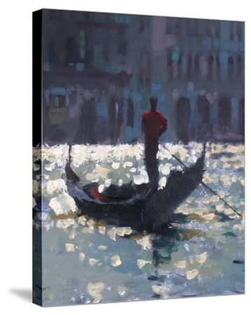 Gondola Glimmer--Stretched Canvas Print