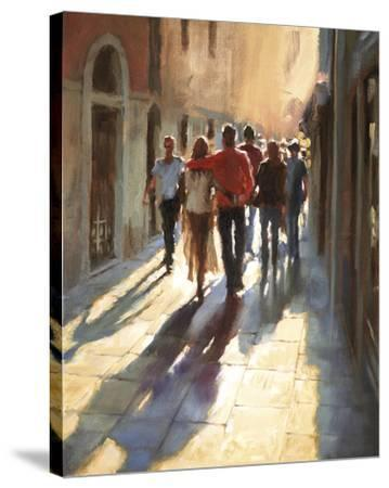 Lost in Love, in Venice--Stretched Canvas Print