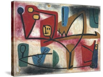 Arrogance-Paul Klee-Stretched Canvas Print