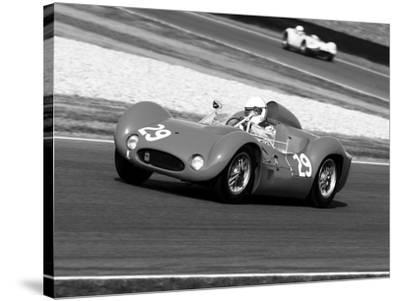 Historical race-cars-Gasoline Images-Stretched Canvas Print