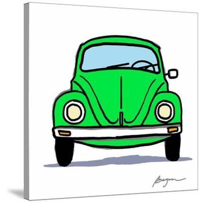 Green Bug-Carlos Beyon-Stretched Canvas Print