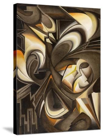 Uno di due-Laura Ceccarelli-Stretched Canvas Print