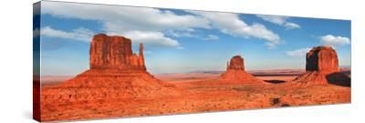 View to the Monument Valley, Arizona-Vadim Ratsenskiy-Stretched Canvas Print