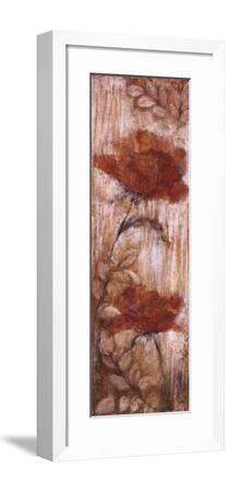 Long Tall Poppies I-Rosie Abrahams-Framed Art Print