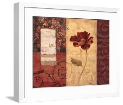 Peony Montage-Carol Robinson-Framed Art Print