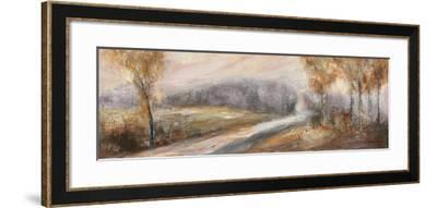 Through the Tree Line II-Rosemary Abrahams-Framed Art Print