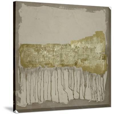Gilded Neutral Ravine II-Jennifer Goldberger-Stretched Canvas Print