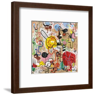 Are You My Ideal Self?-Joi Murugavell-Framed Art Print