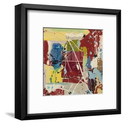 Experiment in Motion 1-William Montgomery-Framed Art Print