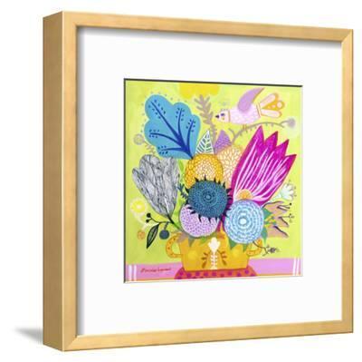 Flowers of June-Mercedes Lagunas-Framed Art Print