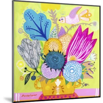 Flowers of June-Mercedes Lagunas-Mounted Art Print