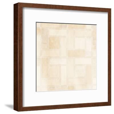 Birds Eye-Jace Grey-Framed Art Print