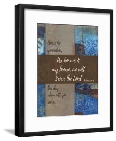 We Will Serve Winter Rain-Smith Haynes-Framed Art Print