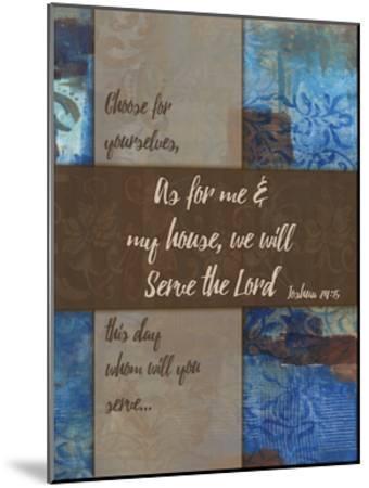 We Will Serve Winter Rain-Smith Haynes-Mounted Art Print