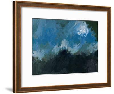 Waves-Sarah Butcher-Framed Art Print