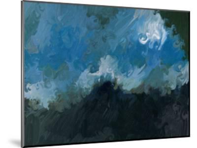 Waves-Sarah Butcher-Mounted Art Print