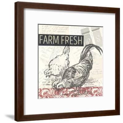 Morning on the Farm-Kimberly Allen-Framed Art Print