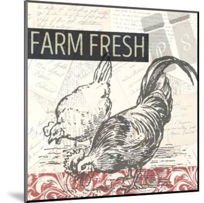 Morning on the Farm-Kimberly Allen-Mounted Art Print